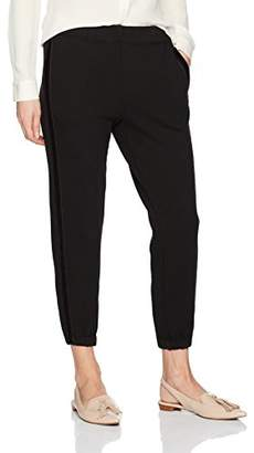 Wilt Women's Twisted Velvet Ribbon Old School Sweatpants