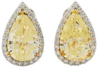 950 Platinum with 11.47ctw Diamond Earrings