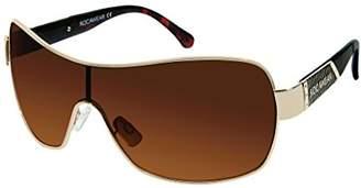 Rocawear Women's R556 Gldbr Shield Sunglasses