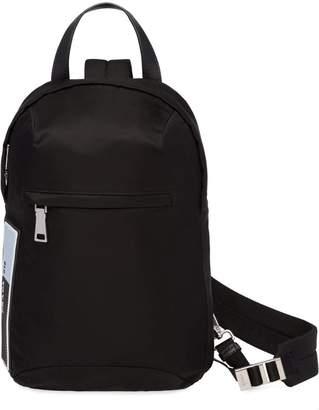 Prada one shoulder backpack
