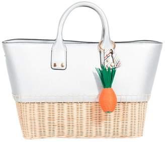 Marbella Parfois - Silver Shopper Bag