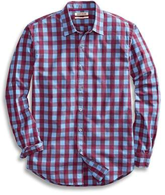 Goodthreads Men's Standard-Fit Long-Sleeve -Scale Check Shirt