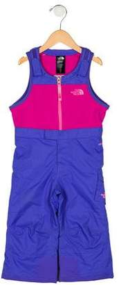 The North Face Girls' Sleeveless Snow Jumpsuit