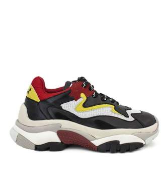 Ash Multicolor Leather And Fabric Sneaker.