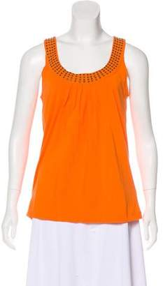 MICHAEL Michael Kors Embelished Sleeveless top