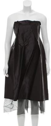 Yang Li Silk Sleeveless Dress
