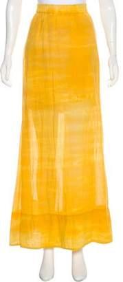 Raquel Allegra Tie-Dye Maxi Skirt