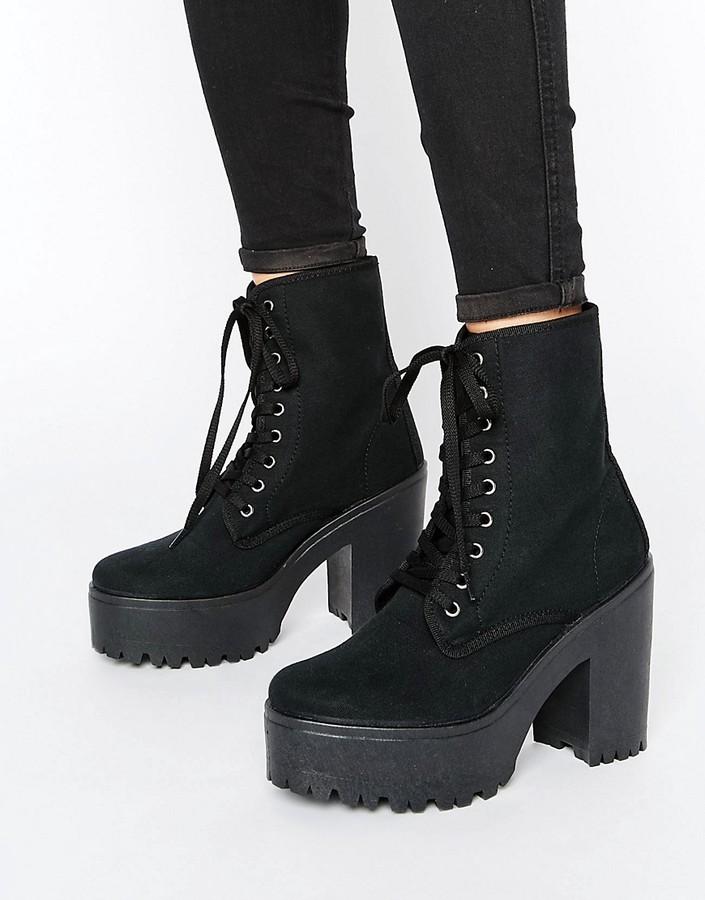 AsosASOS ENERGY Lace Up Boots