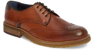 Ted Baker Prycce Leather Wingtip Derby