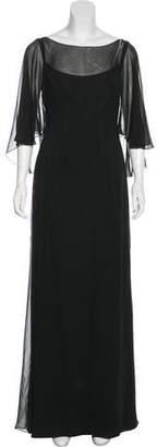 Marchesa Silk Maxi Dress