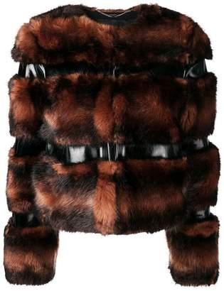 Elisabetta Franchi short fur jacket