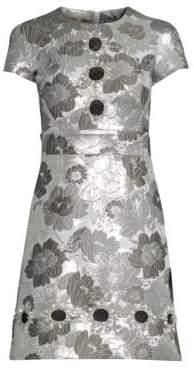 Michael Kors Embroidered Flower Dress