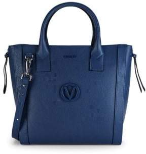 Charmont Convertible Pebbled Leather Tote