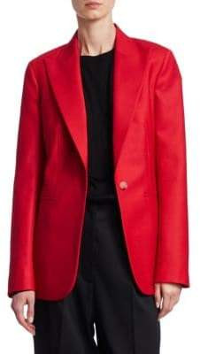 The Row Tailored Wool Blazer