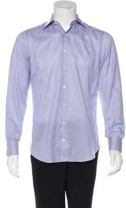 Cesare Attolini Striped Dress Shirt