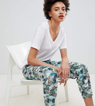 Esprit Tropical Printed Joggers