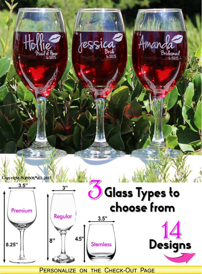 Etsy Etched Bridesmaid Wine Glasses, Bachelorette Party Favors, Bachelorette Party Cups, Bride Tribe, Bri