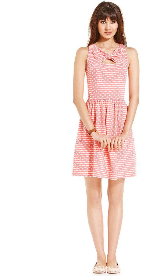 Maison Jules Bow-Tie Dress