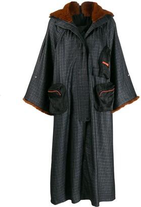 Quetsche oversized hooded coat