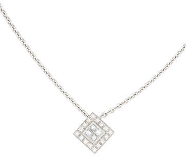 CharriolCharriol 18K Diamond Square Pendant Necklace