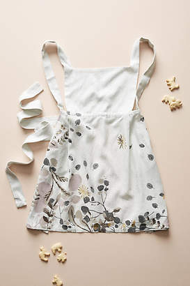Anthropologie Gilded Botany Toddler Apron
