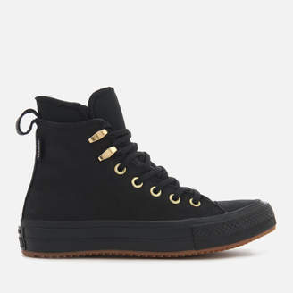 Converse Chuck Taylor All Star Waterproof Boots - Black/Black/Brass