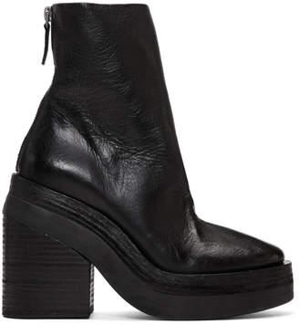 Marsèll Black Stisicona Platform Boots
