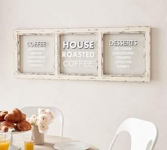 Pottery Barn Coffee Shop Sign