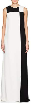 Lisa Perry Women's Colorblocked Crepe Gown