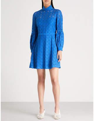 Claudie Pierlot Floral-lace mini dress