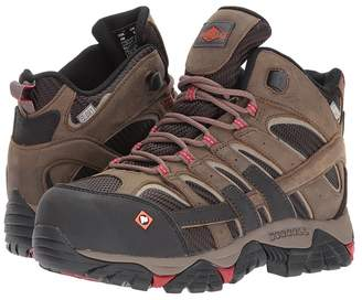 Merrell Work Moab 2 Vent Mid Waterproof CT Women's Work Lace-up Boots