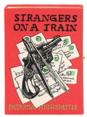 Strangers On A Train box clutch