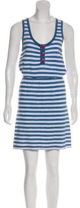 Juicy Couture Striped Mini Dress