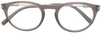 Bulgari frosty round shaped glasses