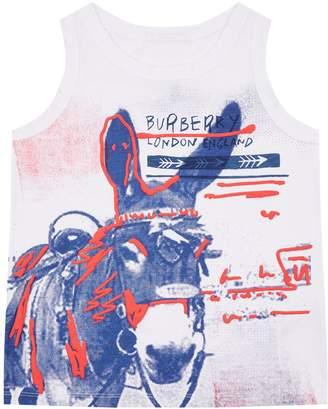 Burberry Donkey Print Vest Top
