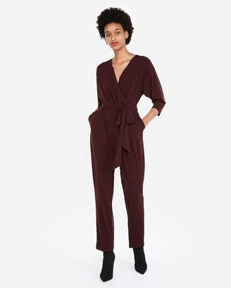 Express Surplice Jumpsuit