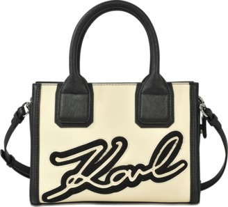 Karl Lagerfeld Karl & Choupette Holiday mini tote $281 thestylecure.com