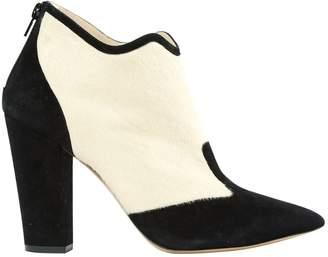 Nicholas Kirkwood Pony-style calfskin boots