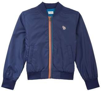 Paul Smith Rainbow Stripe Bomber Jacket