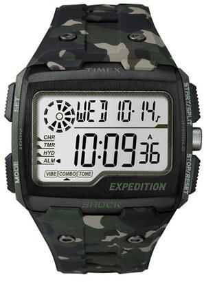 Men's Timex Resin Digital Watch, 50Mm $106 thestylecure.com