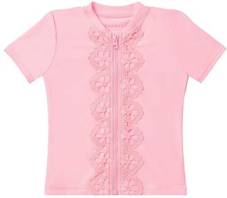Seafolly Girls Toddler Sweet Summer Short Sleeve Suntop