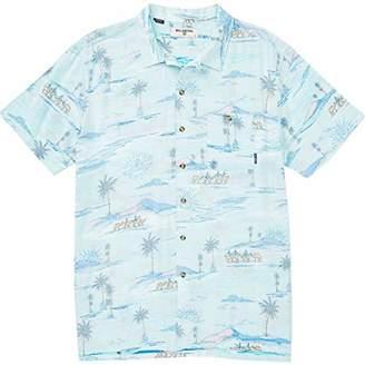 Billabong Men's Vacay Print Short Sleeve Woven Shirt