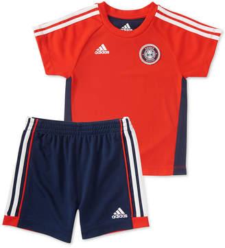 adidas Baby Boys 2-Pc. Hat Trick T-Shirt & Shorts Set