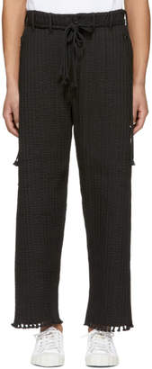 Craig Green Black Cord Uniform Trousers