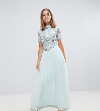 Frock and Frill Petite Frock And Frill Petite Premium Embellished Top Maxi Dress