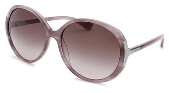 Tod's Women's Round Lilac Sunglasses