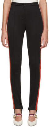 Gucci Black Side Web Band Leggings