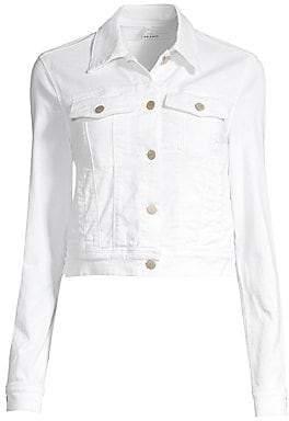 J Brand Women's Harlow Shrunken Cropped Denim Jacket