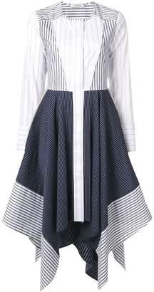 Schumacher Dorothee striped shirt dress