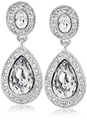 "Carolee Crystal Basics"" The Jessica Pierced Drop Earrings"